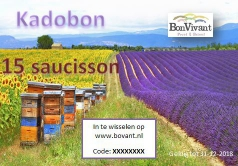 Kadobon voor saussions